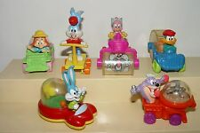 Vintage 1992 McDonald's Tiny Toon Adventures Wacky Rollers Happy Meal Toys Used