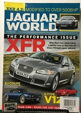 Jaguar World Performance Issue XFR XJ Coupe January 2018 FREE SHIPPING JB