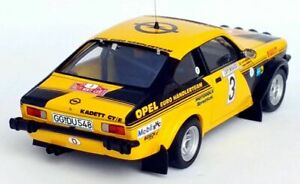 Trofeu DSN05 - Opel Kadett Gt / E Eurohändler Aufbau Carlo 76 No.3 Mikkola 1/43