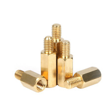 M4 Male-Female Brass Hex Column Standoff Support Spacer Pillar for PCB Board