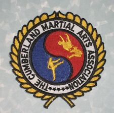 """Cumberland Martial Arts Association Patch - Kentucky - 3 1/2"""" x 3 5/8"""""""