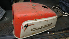Crescent Marin Outboard Cover, Lid Vintage (60's, 70's)