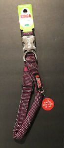 KONG Rope Collar For Dogs, Large, Purple