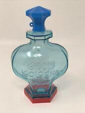 Mattel Kiddle Kologne Doll EMPTY BOTTLE CONTAINER Blue Red 21-1663