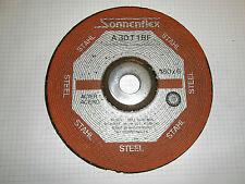 10 Stück 180 mm x 6 mm Schleifscheibe Flexscheibe Schruppscheibe Metall Inox