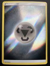 Carte Pokemon ENERGIE METAL Soleil et Lune Commune Reverse Française NEUF