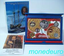 (283) ESPAÑA JAPON 2013 SET PROOF 10 € Y 6 MONEDAS JAPONESAS 400 AÑOS RELACIONES