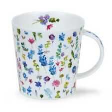 Belle Fleurs blau Dunoon Jumbo 0,48l Teetasse Mug Kaffeebecher Cairngorm