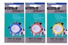 Ancol Crystal nome DISC-Single-CAT & DOG ACCESSORI VARI