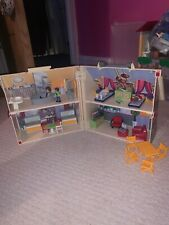 Playmobil Folding House/Home with furniture & people