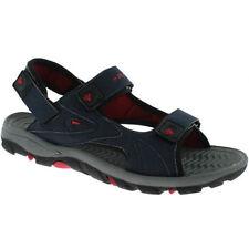 Sandali e scarpe blu in pelle sintetica per il mare da uomo