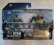 REAL STEEL Versus 2 Pack Atom vs Zeus. New in Box. Sealed. Box slightly damaged