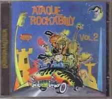ATAQUE ROCKABILLY - Volumen 2 ( Rockabilly Compilation ) CD Rock Mexican Edition