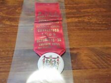 Middle Atlantic Numismatic Association 11th Annual Convention Ribbon Pin Back