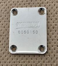 1986 Washburn G-IV Electric Guitar Original Washburn Logo Neck Plate