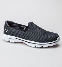 Zapatos planos de mujer negro textiles Skechers