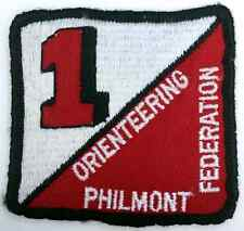 Boy Scout Camp Philmont Orienteering Federation Patch Badge BSA Merit Award