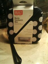 BUILT New York Bento Sandwich Box Insulating Neoprene Sleeve & Container