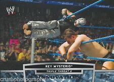 Rey Mysterio Triple Threat 2 Innovation 2013 WWE Topps Trading Card TT10-2 WCW