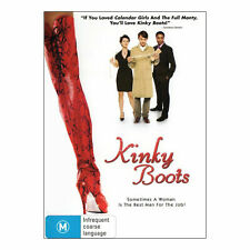 KINKY BOOTS (2005 MOVIE - DVD SEALED + FREE POST)