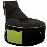 Sitzsack Bodenkissen Gaming Sitzkissen Kissen Sessel Beanbag In/Outdoor Handmade