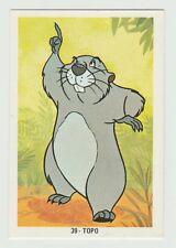 Fher 1970s Spain Spanish Walt Disney Trade Card #39 Gopher from Winnie The Pooh