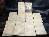A SONG OF INDIA FOX TROT ORCHESTRA SHEET MUSIC-1921