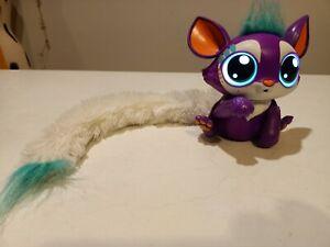 Lil Gleemerz Babies sounds lights up tail eyes 2018 Mattel EUC purple interactiv