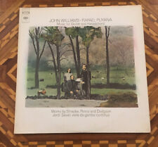 John Williams & Rafael Puyana - Music For Guitar & Harpsichord Columbia LP