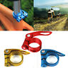 31.8mm MTB Bike Bicycle Cycling Saddle Seatpost Clamp Quick Release Style