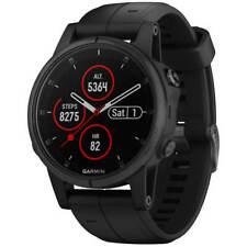 Garmin Unisex Reloj inteligente Fenix 5S Plus EcoTread GPS Correa Negra 010-01987-02