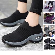 Women's Walking Shoes Sock Sneakers Casual Running Shoes