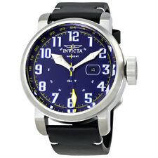 Invicta Aviator GMT Blue Dial Mens Watch 22251