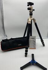 Mefoto A1340 Aluminio Trípode + soporte + Bolsa De Base Monopie Benro