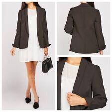 DOROTHY PERKINS Ladies Black Jacket Size 22 Lined Pockets Smart Work NEW NWOT