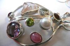 Women's Multi-Stone Pendants Jewellery