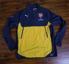 Puma Mens Athletic PUMA Arsenal FC Training Fleece W/ Sponsor Logo size XL NWT!!