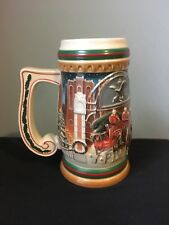 Budweiser Holiday stein 1997. Home for the Holiday