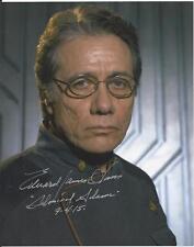 Edward James Olmos - Battlestar Galactica signed photo