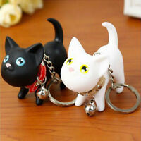 Cute Cat Kitten Key Chains Keyrings HandBags Pendant Ornament Kid Toy Fashion  Z