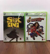 2 New Games Bundle Sneak King Microsoft Xbox 360 Pocketbike Racer Burger King