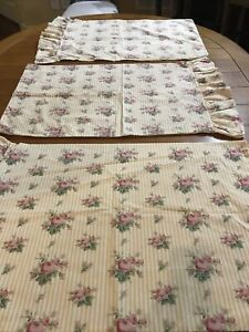 RALPH LAUREN SOPHIE BROOKE YELLOW STANDARD PILLOWCASES Sold Individually
