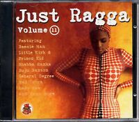 MUSIC CD Just Ragga Volume 11 Dancehall Collection Reggae Various Sealed Album