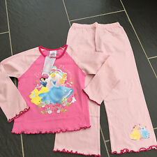 DISNEY PRINCESS DREAMS SNOW WHITE CINDERELLA SLEEPING BEAUTY PYJAMAS 3-4 YRS