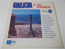 39716 - GALICIA Y SU MUSICA - EMI REGAL VINYL LP (LREG 8.004)