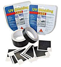 SIKAFLEX UV Shielding Tape Set 25mmx10m+10Ecken SCHWARZ