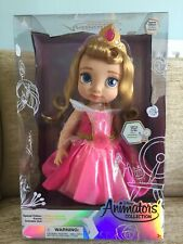 Disney Store Special Edition Rare Aurora Animator Doll Light Up Collectible