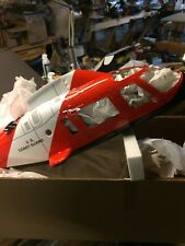 Agusta A109 Coast Guard Helicopter Body 30 Size