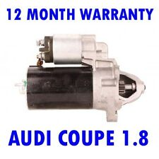 AUDI COUPE 1.8 2.0 1989 1990 1991 REMANUFACTURED STARTER MOTOR