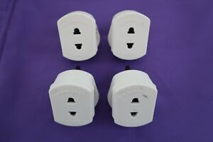 Shaver / Toothbrush Adapter Plug for charger x 4